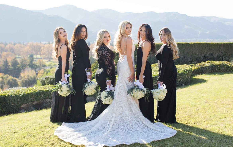 Beatiful Bride & Bridesmaids