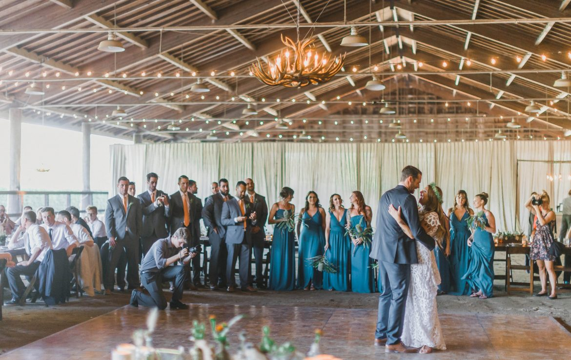 First Dance at Whispering Rose