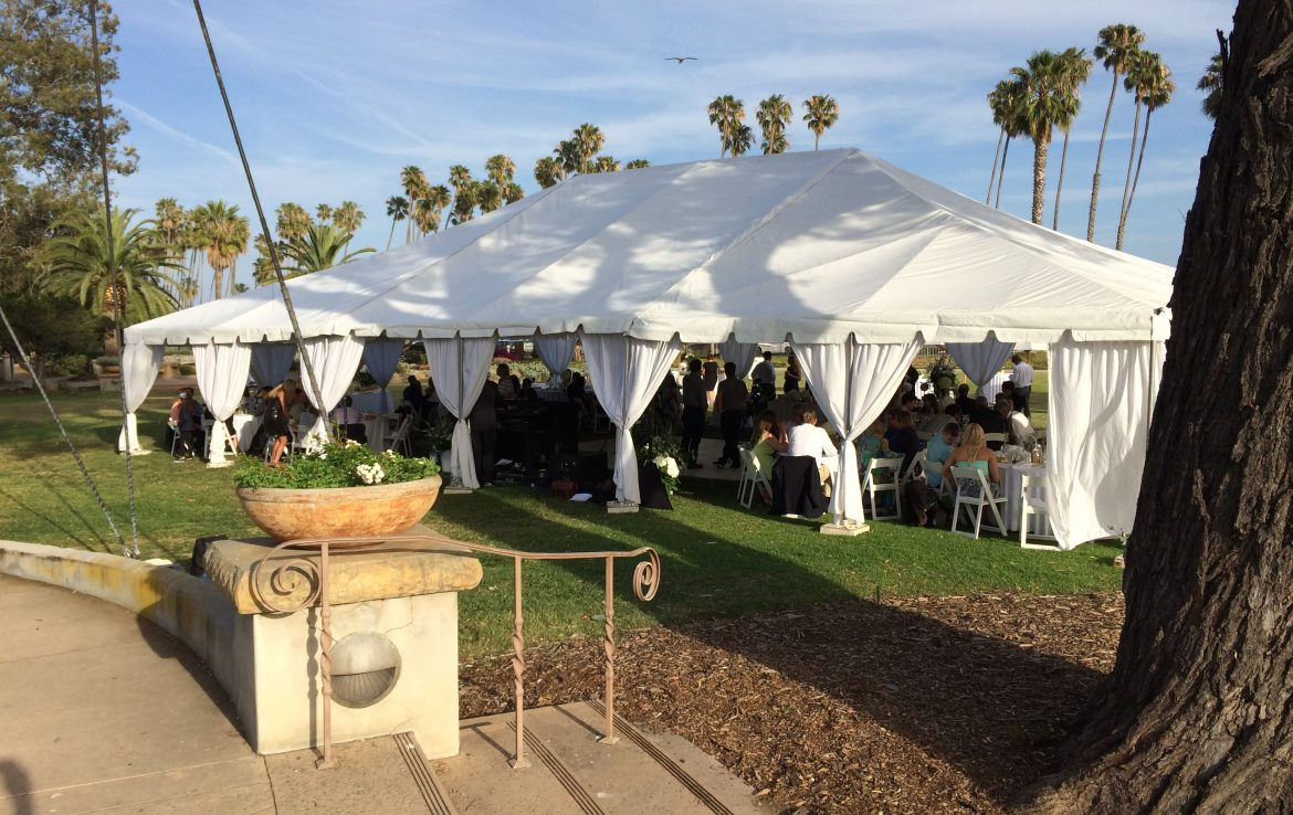 Outdoor Event Reception