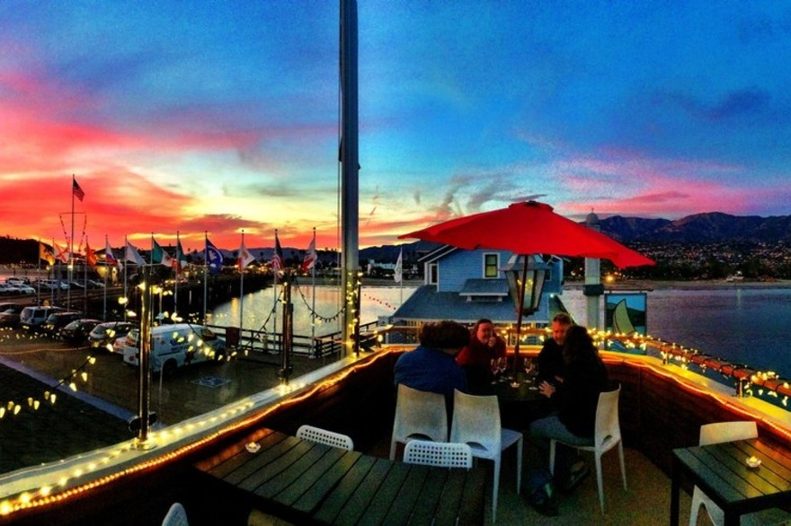 Colorful Skies on the Pier