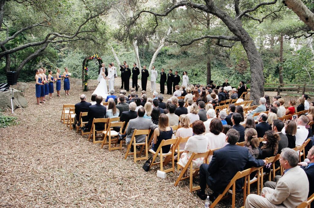 Natural Ceremony Setting