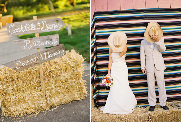 Fun Rustic and Colorful Details