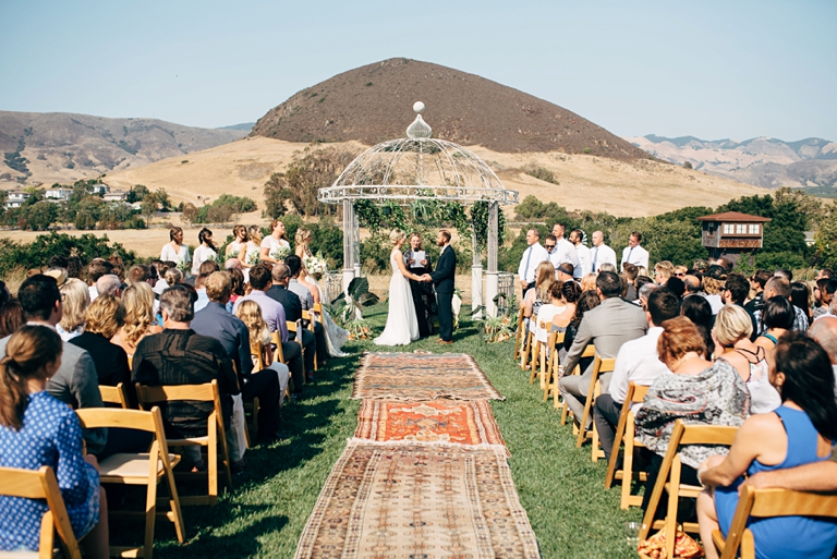 Ceremony at Flying Caballos