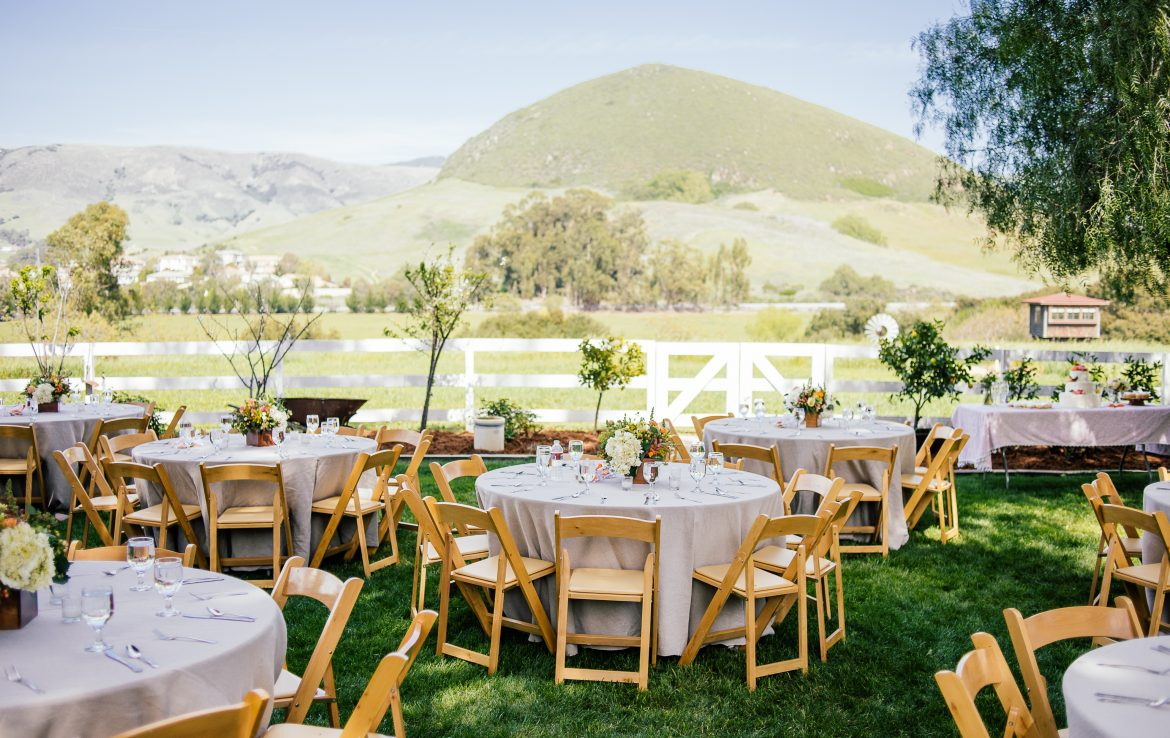 Natural Green Fields for Wedding