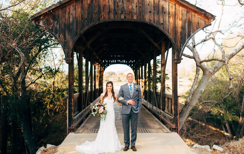 Rustic Wooden Bridge