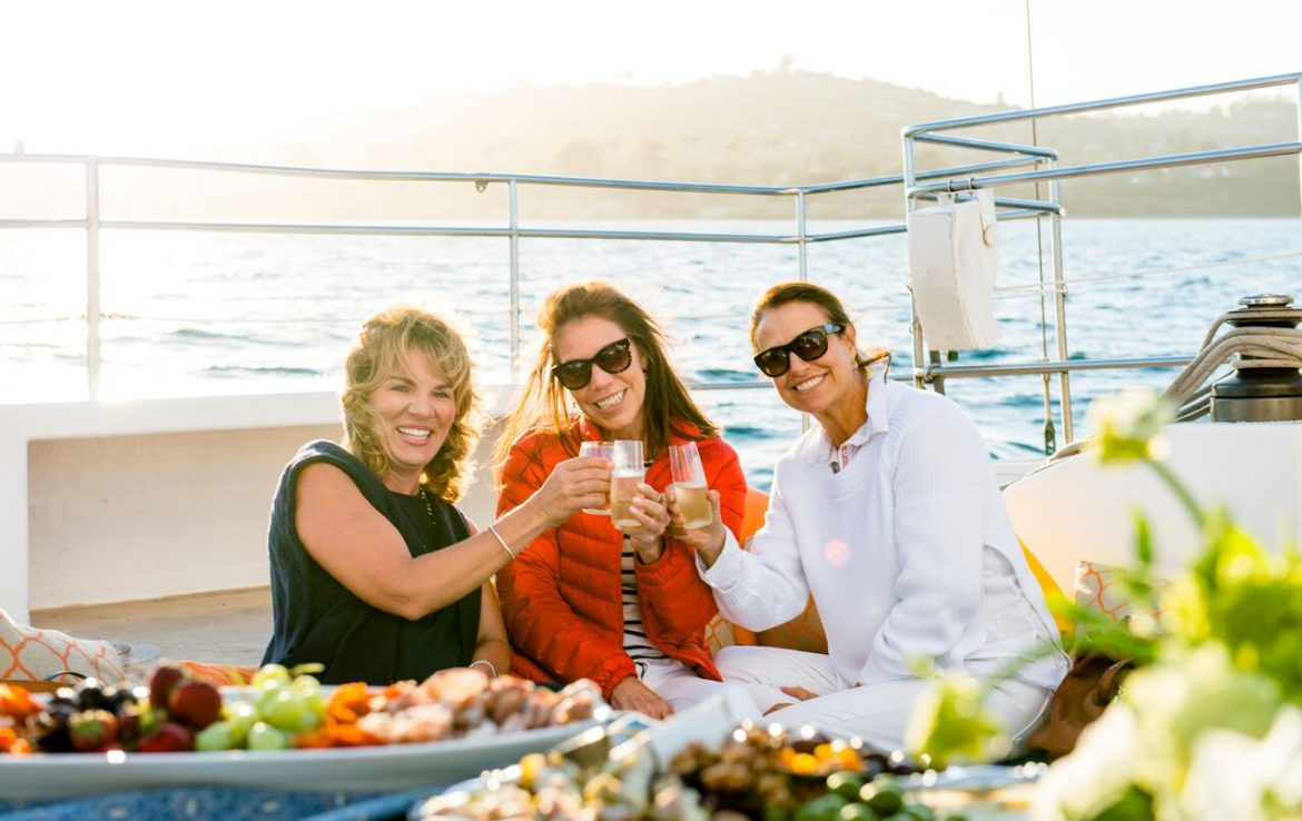 Appetizers on the Sailboat