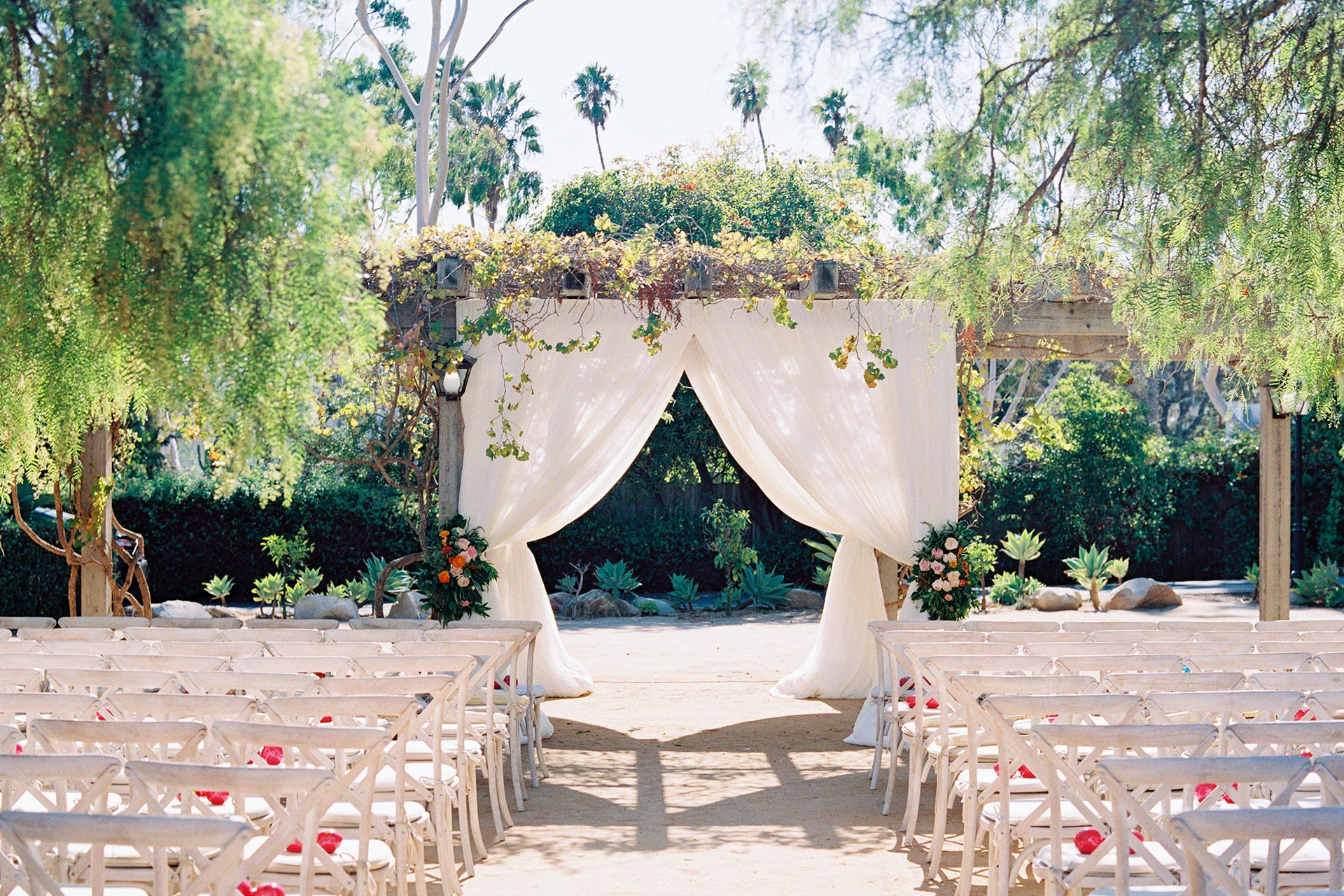 Gorgeous Ceremony Display