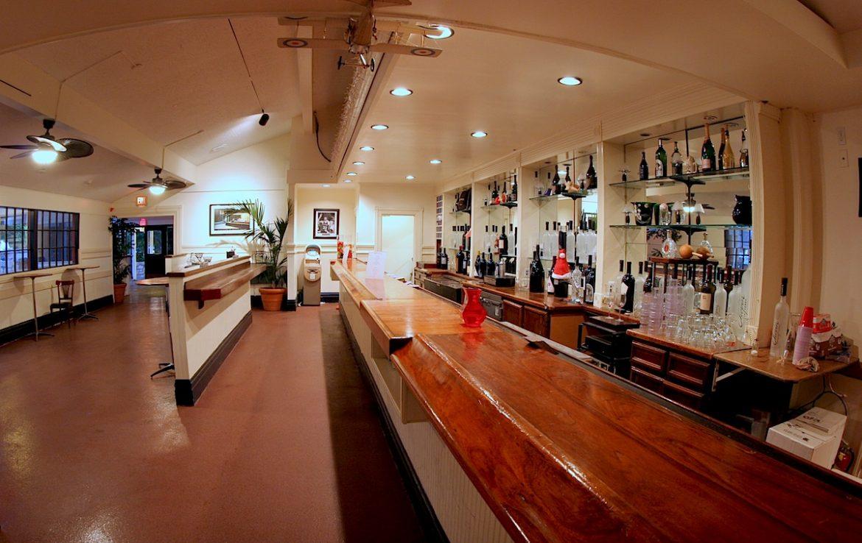 Wood Top Bar at Butler Event Center