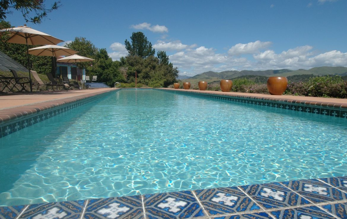 Blue Pool at Casitas Estate