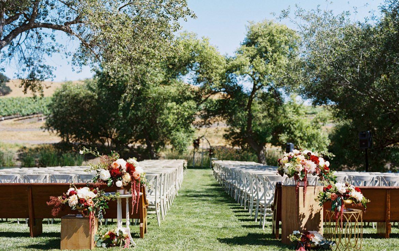 Outdoor Autumn Ceremony