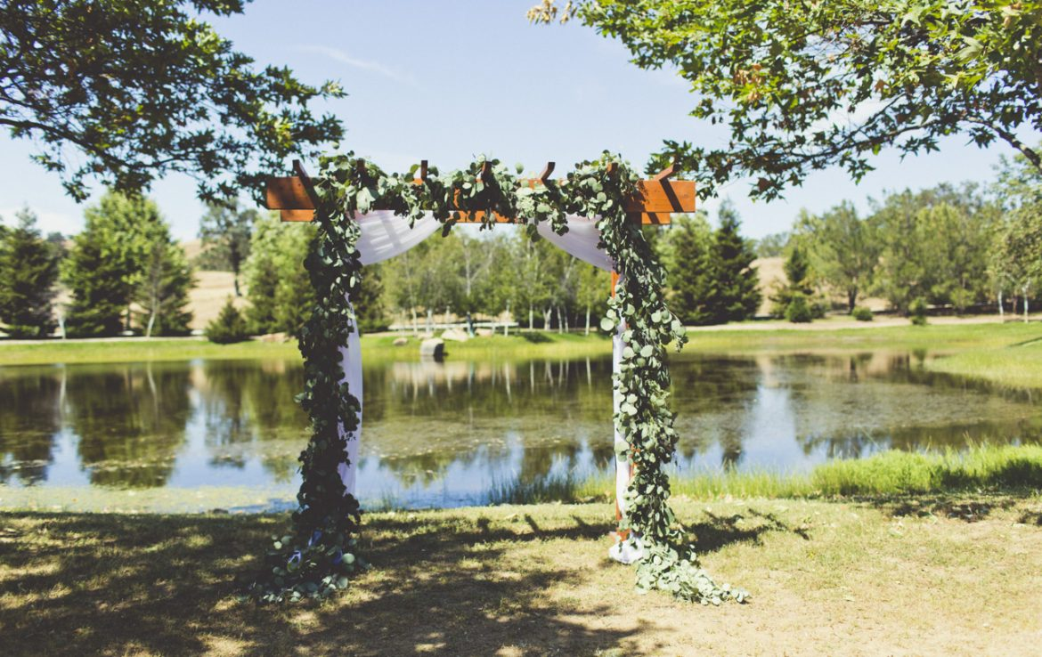 Ceremony Location by the Lake