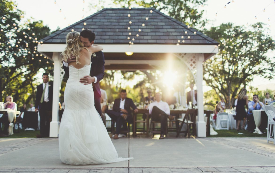 First Dance at Sunset