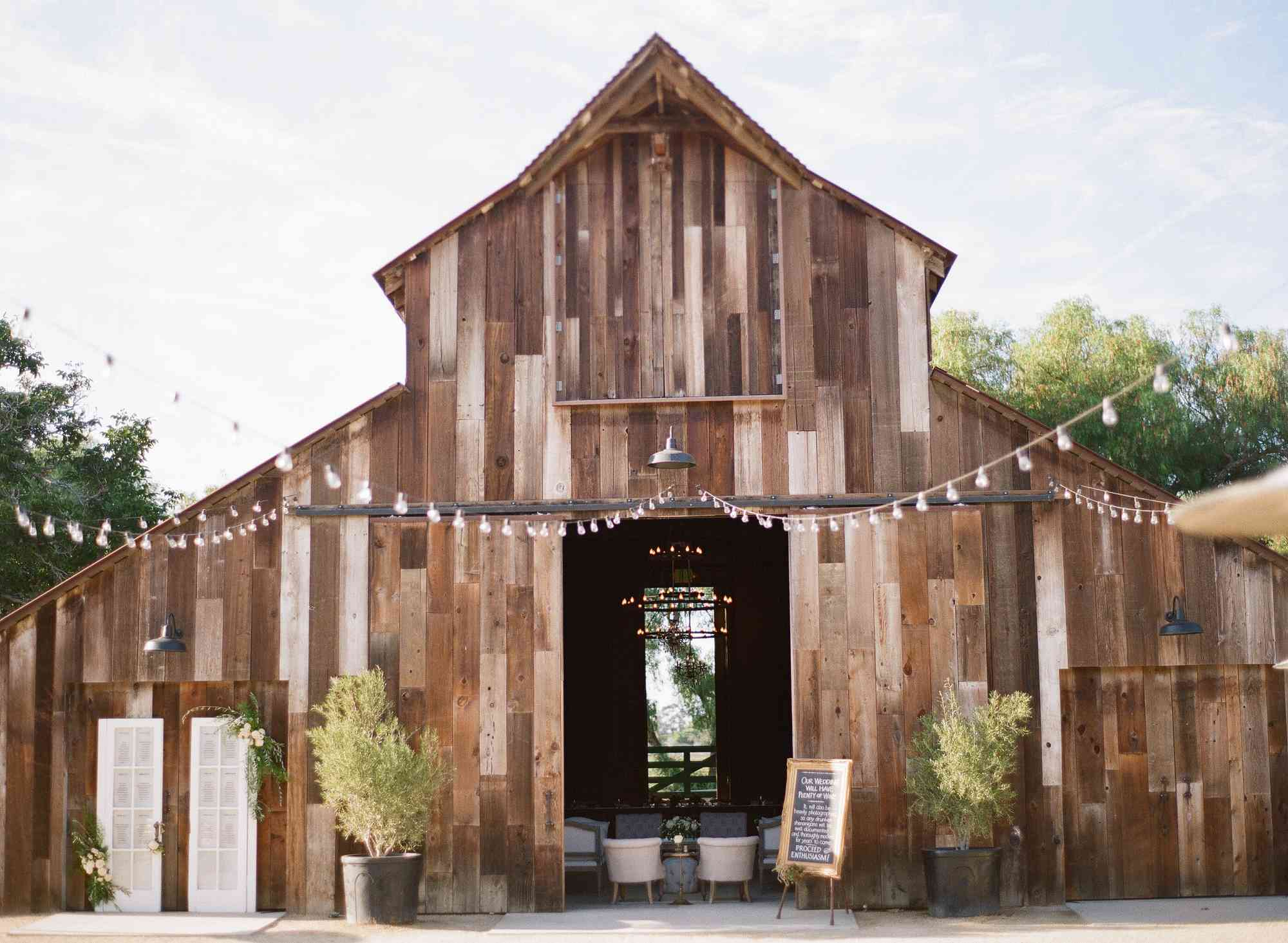 Greengate Barn for Reception