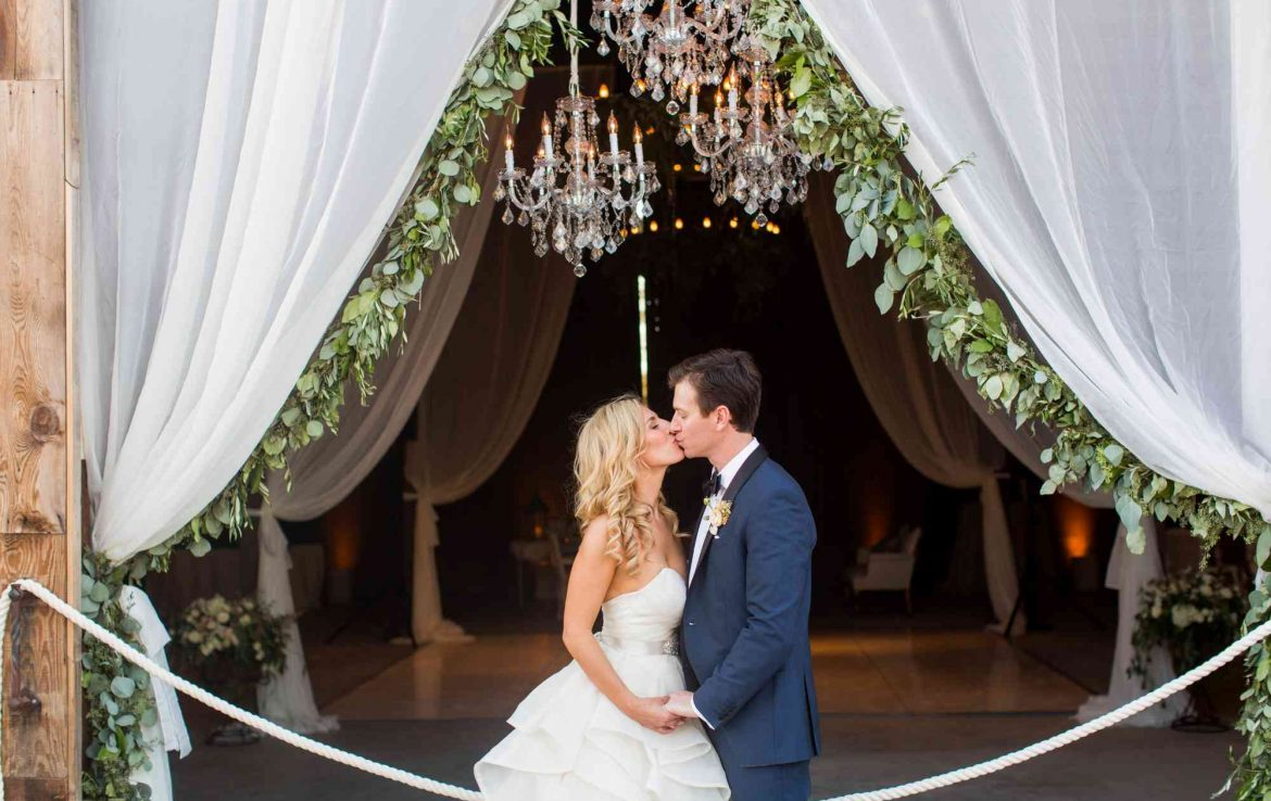 chandeliers and photo ops