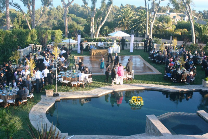 Beautiful Reception Venue in Malibu