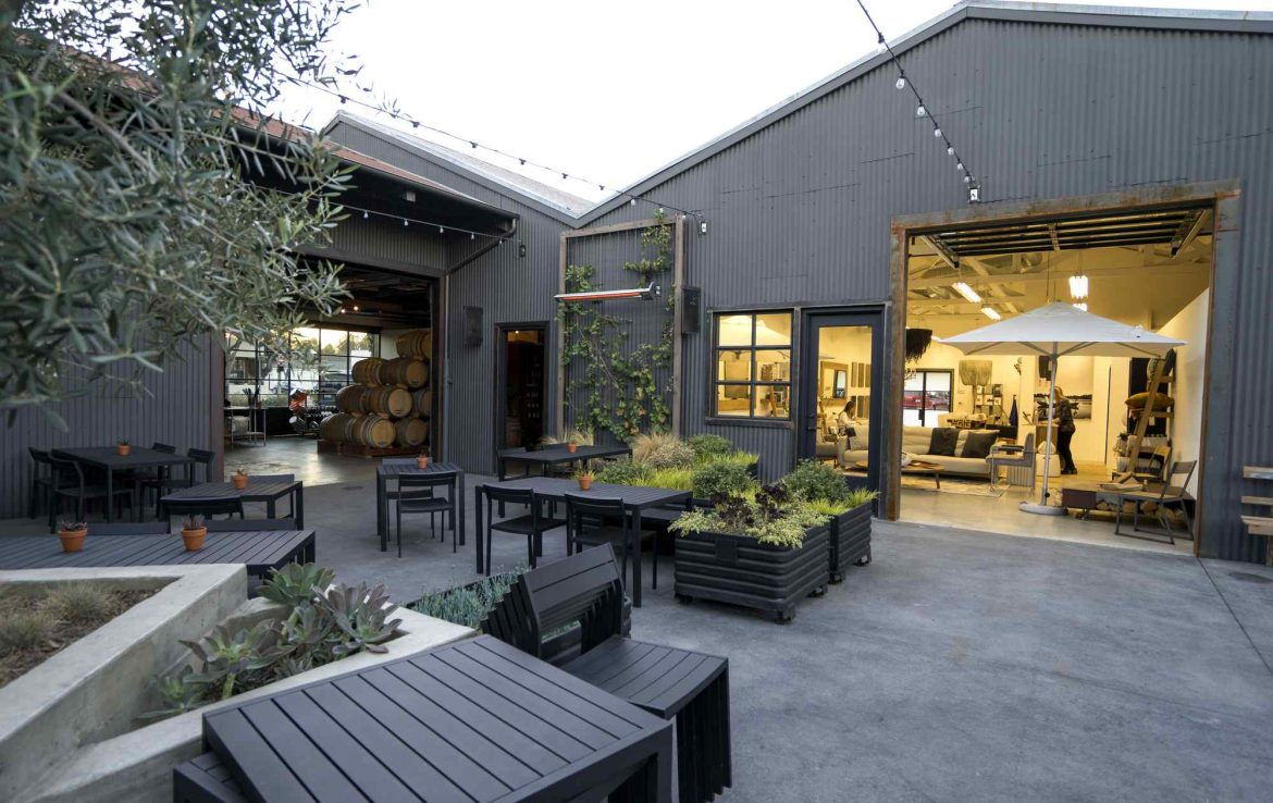 Patio at the Mill