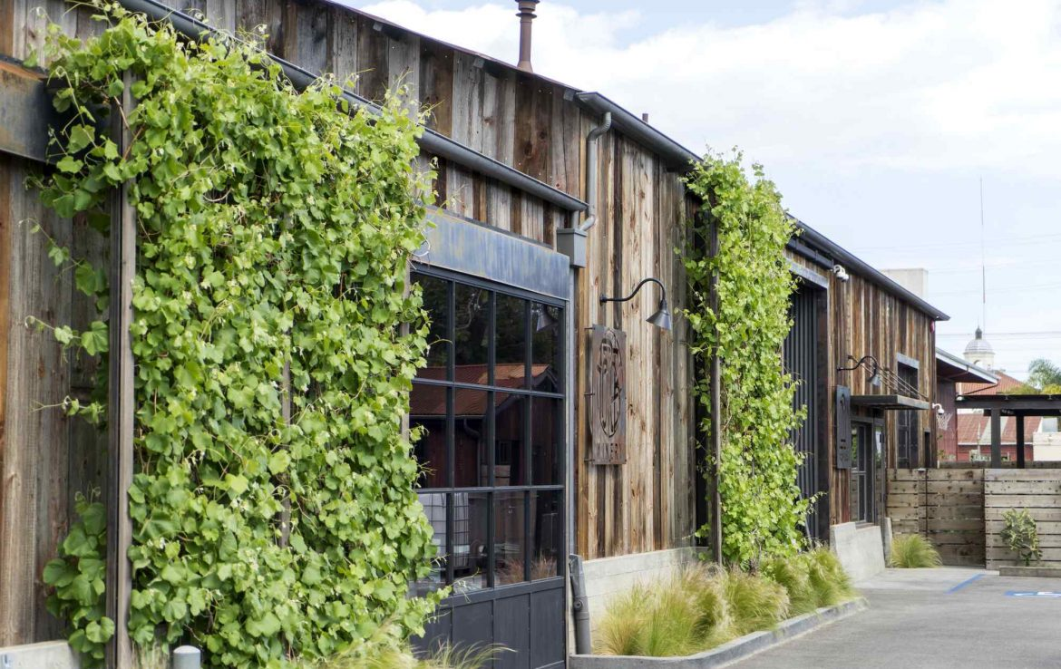 Rustic and Industrial Venue