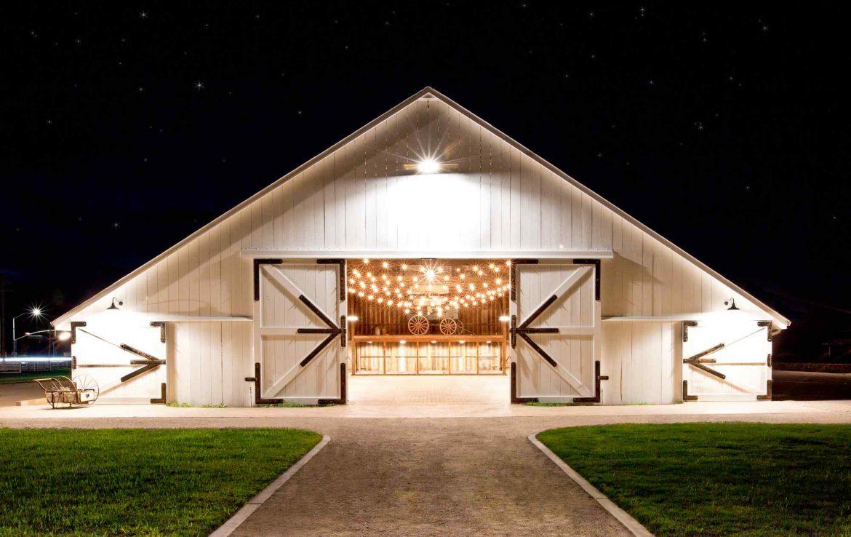 Beautiful White Barn