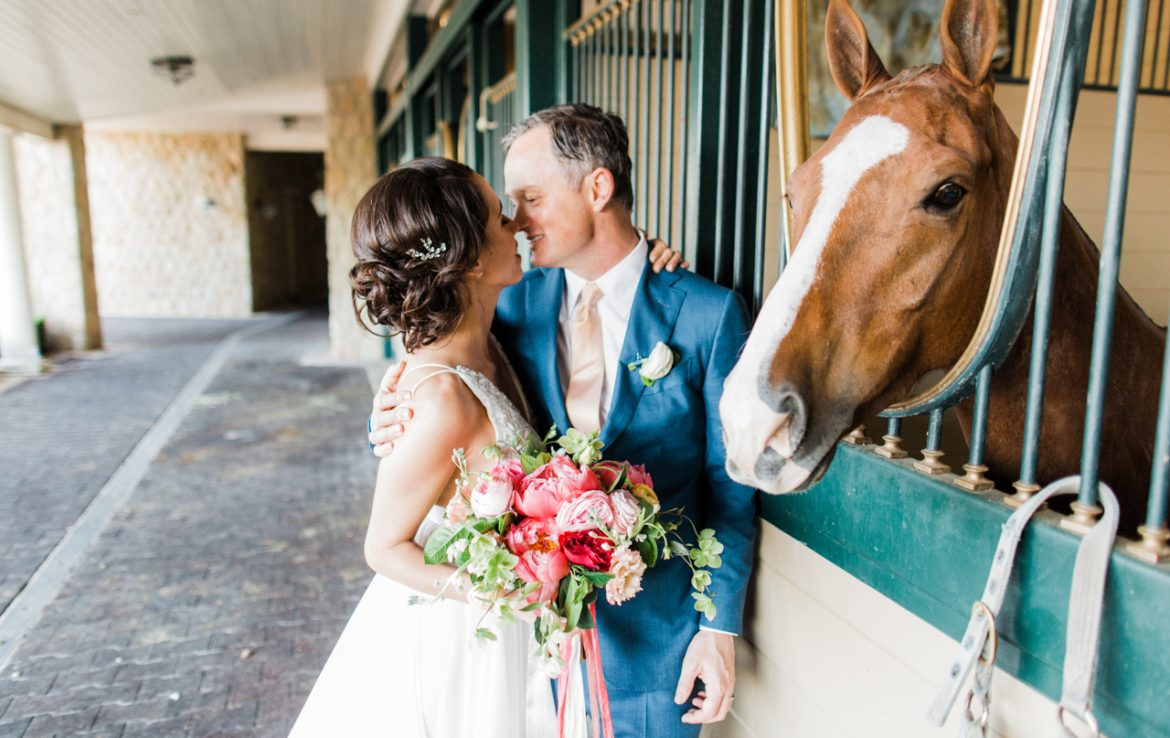 Bride & Groom at Polo Fields