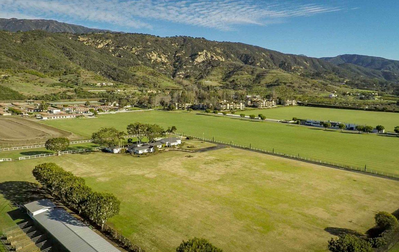 Ariel View of Polo Fields