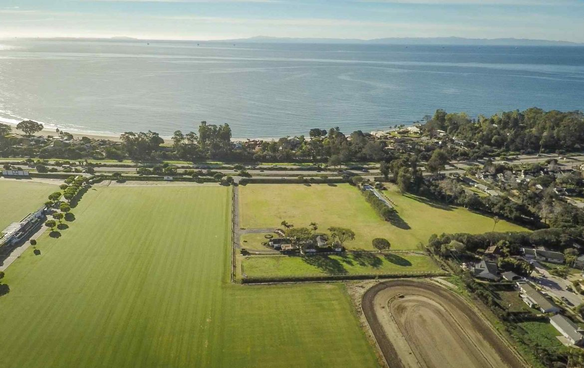 Arial View of Polo Fields