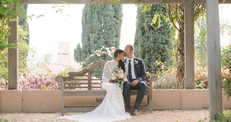 Catching Pure Joy on the Wedding Flip Side
