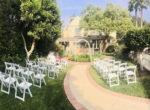 De La Vina Inn - Wedding back garden